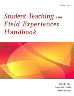 Book Student Teaching and Field Experience Handbook by Betty D. Roe