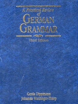 Book A Practical Review of German Grammar by Gerda Dippmann