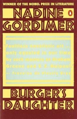 Book Burger's Daughter by Nadine Gordimer