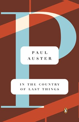 Book In the Country of Last Things by Paul Auster
