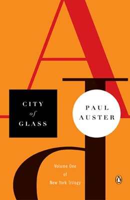 Book City Of Glass by Paul Auster