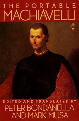 Book The Portable Machiavelli by Niccolo Machiavelli