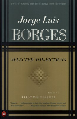 Book Selected Non-fictions: Volume 3 by Jorge Luis Borges