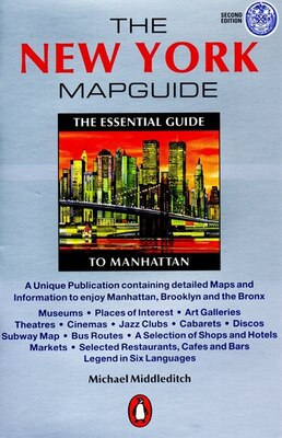 Book The New York Mapguide: Second Edition by Michael Middleditch
