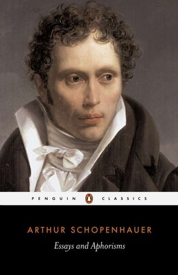 Book Essays And Aphorisms by Arthur Schopenhauer