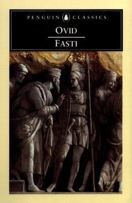 Book Fasti by A J Ovid