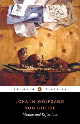 Book Maxims And Reflections by Johann Wolfgang von Goethe