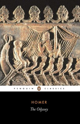 Book The Odyssey by Peter V. Homer
