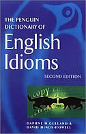 Book The Penguin Dictionary Of English Idioms by Daphne M. Gulland