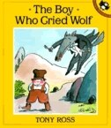 Book The Boy Who Cried Wolf by Tony Ross