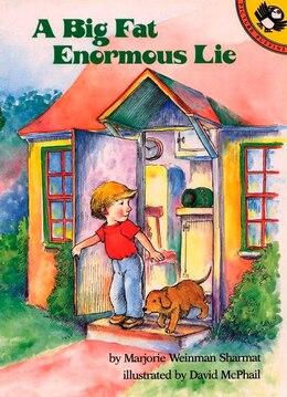 Book A Big Fat Enormous Lie by Marjorie Weinman Sharmat