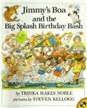 Book Jimmy's Boa And The Big Splash Birthday Bash by Trinka Hakes Noble