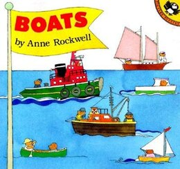 Book Boats by Anne Rockwell