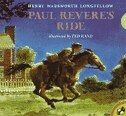 Book Paul Revere's Ride by Henry Wadsworth Longfellow