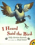 Book I Heard Said The Bird by Polly Berien Berends