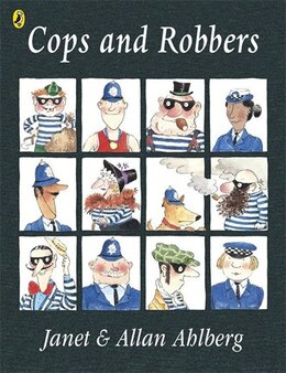 Book Cops And Robbers by Allan Ahlberg