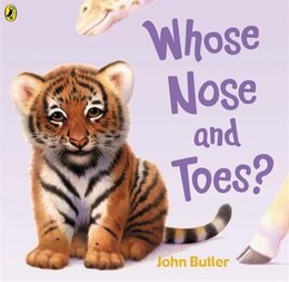 Book Whose Nose and Toes by John Butler