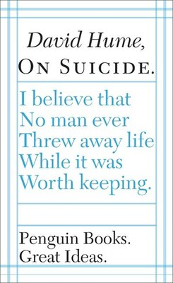 Book Great Ideas On Suicide by David Hume