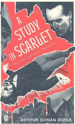 Book Red Classics Study In Scarlet by Arthur Conan Doyle
