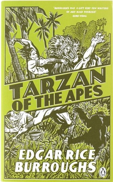 Red Classics Tarzan Of The Apes by Edgar Rice Burroughs