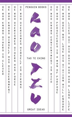 Book Great Ideas Tao Te Ching by Tzu Lao