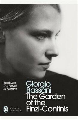 Book Modern Classics Garden Of The Finzi Continis by Giorgio Bassani