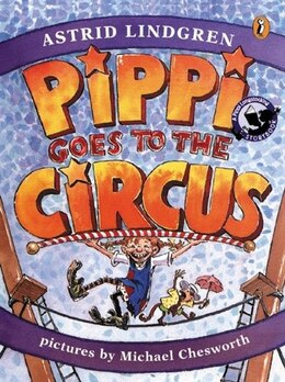 Book Pippi Goes To The Circus by Astrid Lindgren