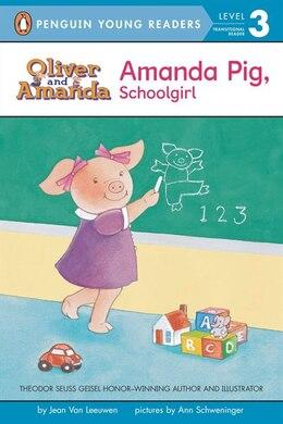 Book Amanda Pig, Schoolgirl by Jean Van Leeuwen
