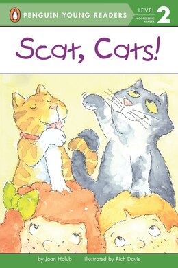 Book Scat, Cats! by Joan Holub