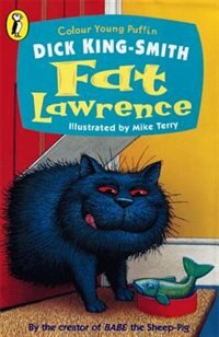 Book Colour Young Puffin Fat Lawrence by Smith Dick King
