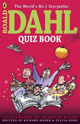 Book The Roald Dahl Quiz Book by Richard Maher