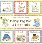 Baby's Big Box Of Little Books Set Of 9 Chunky Board Books