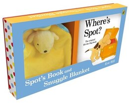 Book Spot's Book And Snuggle Blanket by Eric Hill