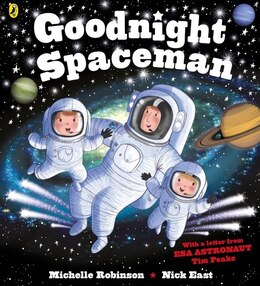 Book Goodnight Spaceman by Michelle Robinson