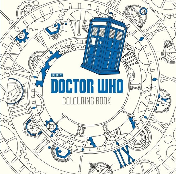 Dr. Who: The Colouring Book by Lee Teng BBC