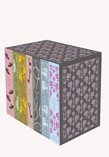 Jane Austen: The Complete Works 7-book Boxed Set: Classics Hardcover Boxed Set by Jane Austen