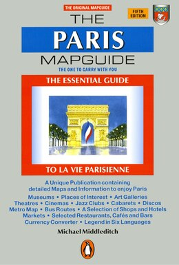 Book The Paris Mapguide: Second Edition by Michael Middleditch
