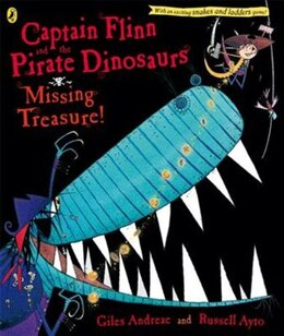 Book Captain Flinn And The Pirate Dinosaurs The Missing Treasure by Giles Andreae