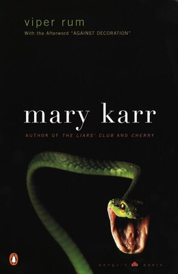 Book Viper Rum: by Mary Karr
