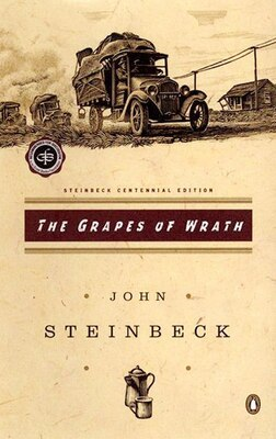 Book The Grapes Of Wrath: (centennial Edition) by John Steinbeck