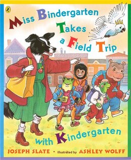 Book Miss Bindergarten Takes A Field Trip With Kindergarten by Joseph Slate