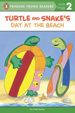 Book Turtle And Snake's Day At The Beach by Kate Spohn