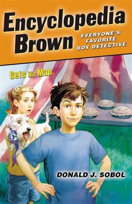 Book Encyclopedia Brown Gets His Man by Donald J. Sobol