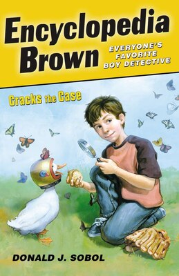 Book Encyclopedia Brown Cracks The Case by Donald J. Sobol