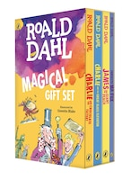 Roald Dahl Magical Gift Set (4 Books): Charlie And The Chocolate Factory, James And The Giant Peach…