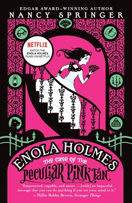 Book The Case Of The Peculiar Pink Fan: An Enola Holmes Mystery by Nancy Springer