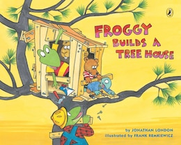 Book Froggy Builds A Tree House by Jonathan London