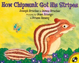 Book How Chipmunk Got his Stripes by Joseph Bruchac