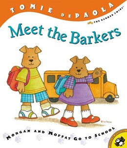 Book Meet The Barkers by Tomie Depaola