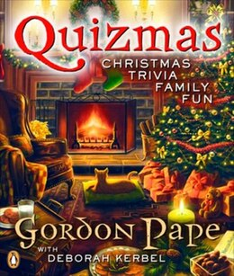 Book Quizmas: Christmas Trivia Family Fun by Gordon Pape